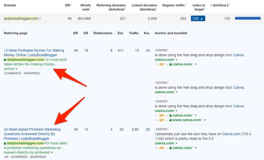ladybossblogger links