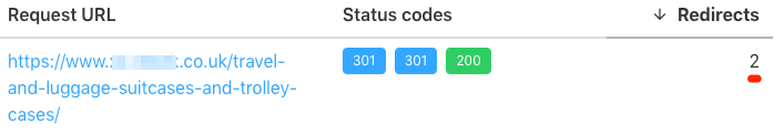 redirects http code checker