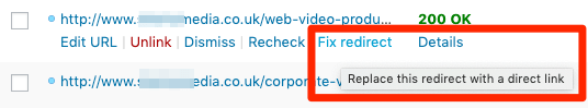 fix redirect