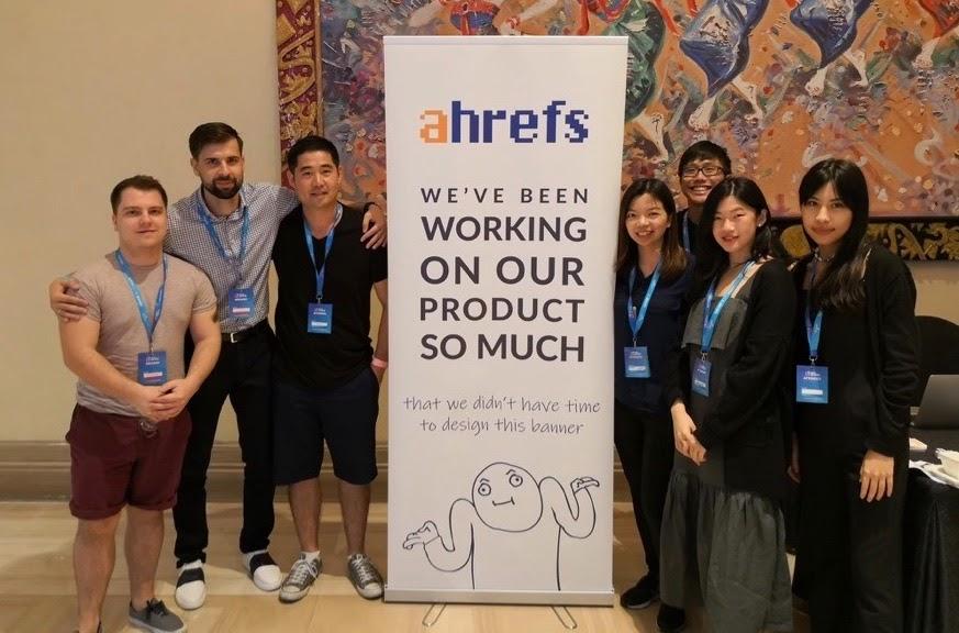 ahrefs event banner marketing ideas