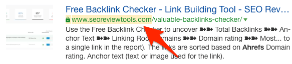 highlighted unlinked mention