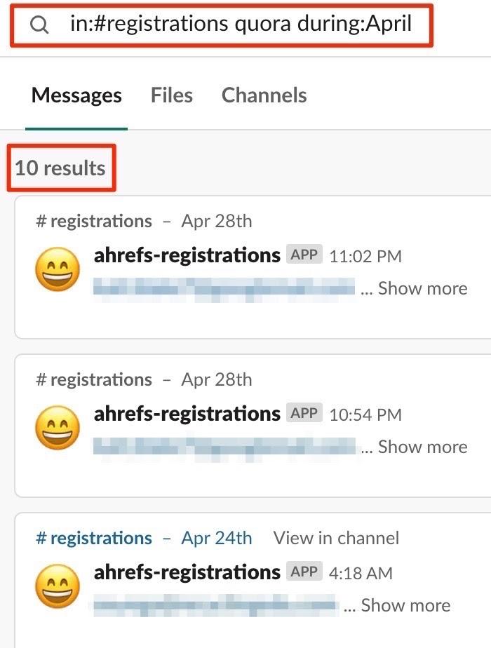 quora registrations 2