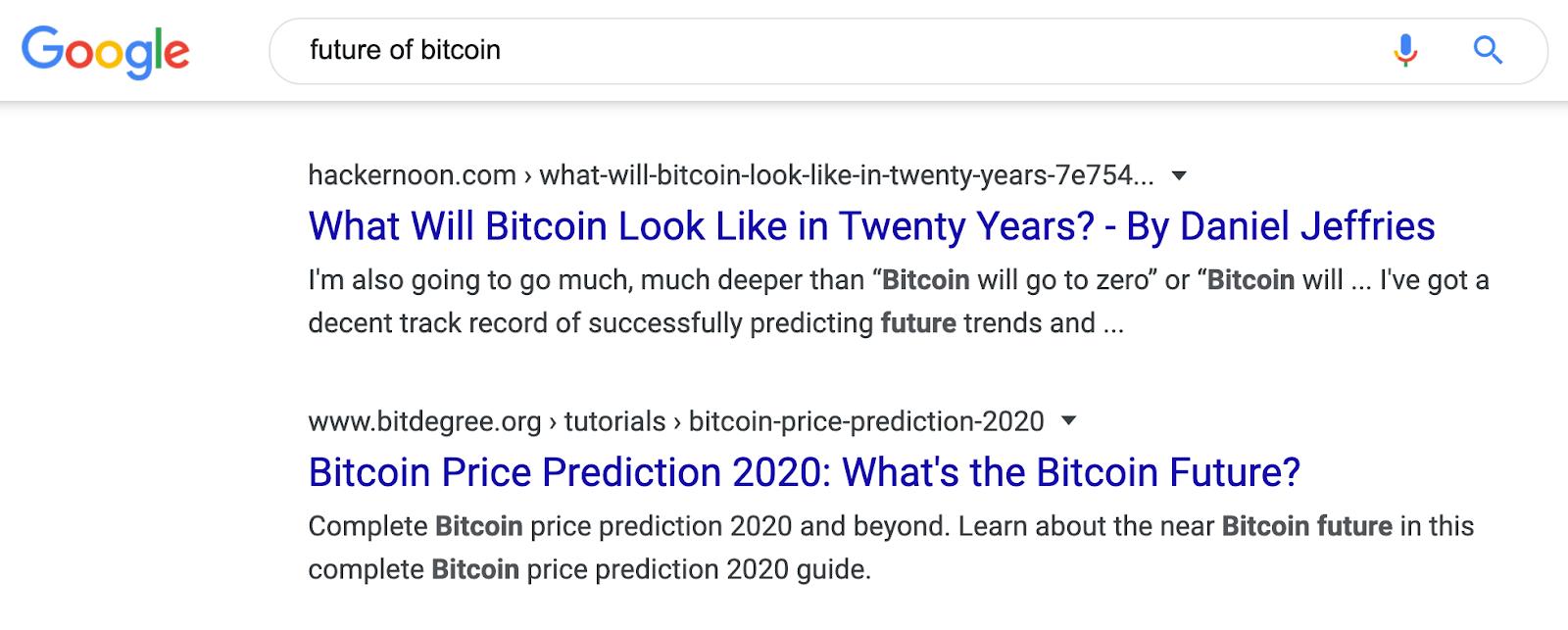 13 serp future of bitcoin
