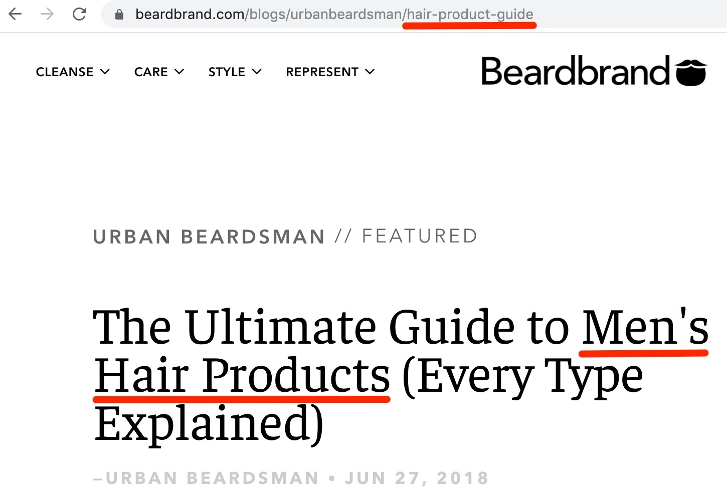 The Ultimate Guide to Men s Hair Products Every Type Explained Beardbrand