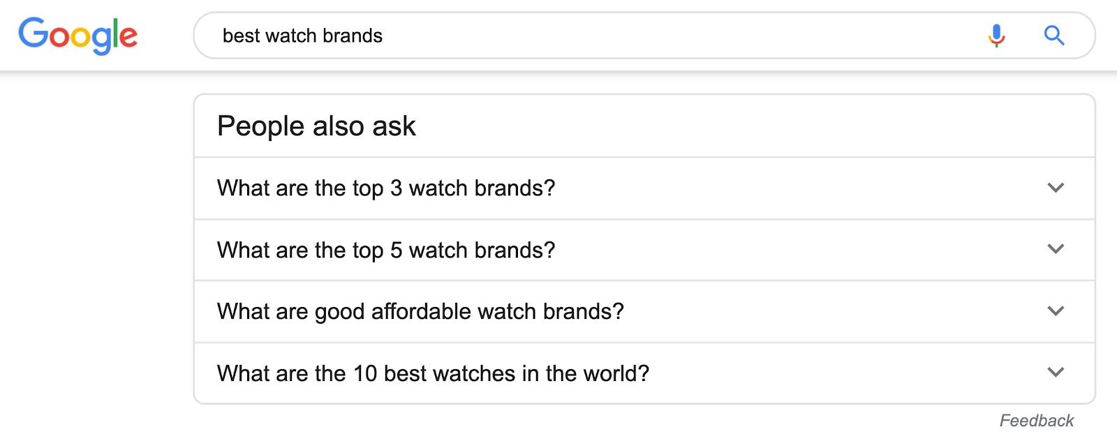 best watch brands paa