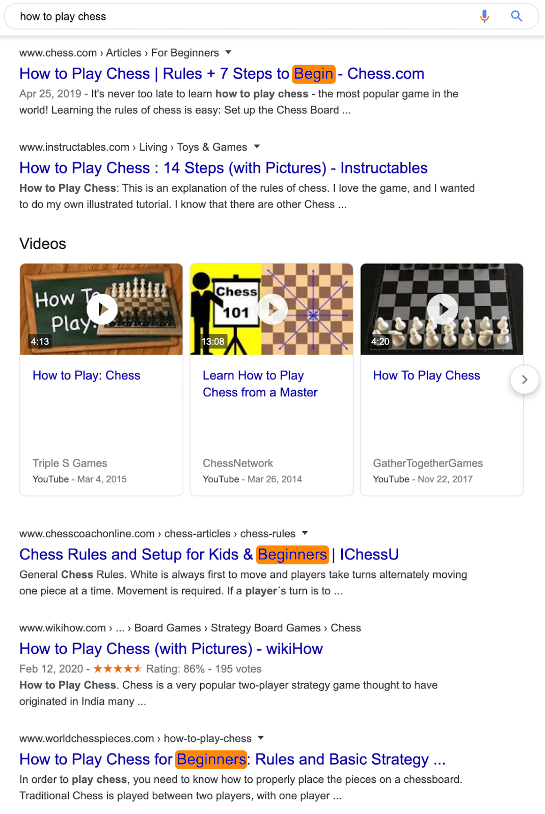 9 how to play chess serp