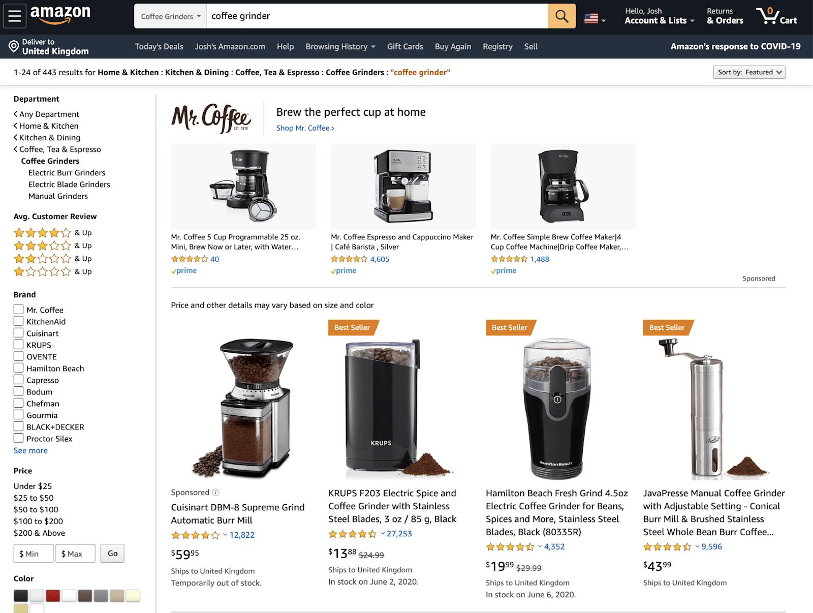 21 amazon product prices