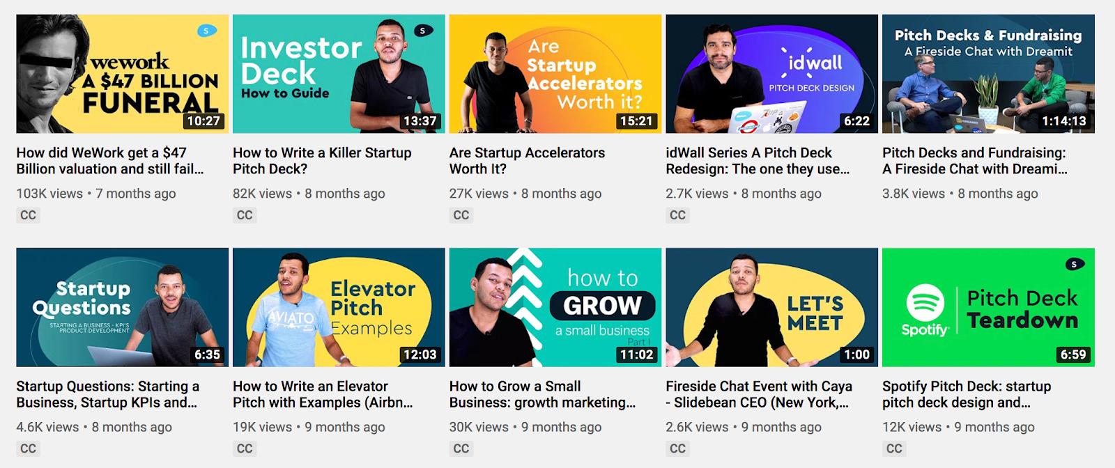 Slidebean Startups 101 YouTube