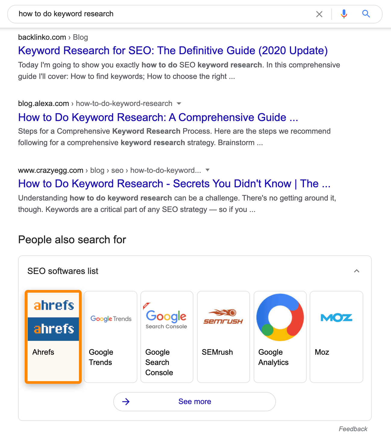 3 knowledge graph result
