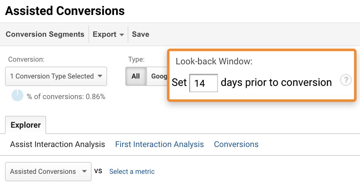8 attribution window