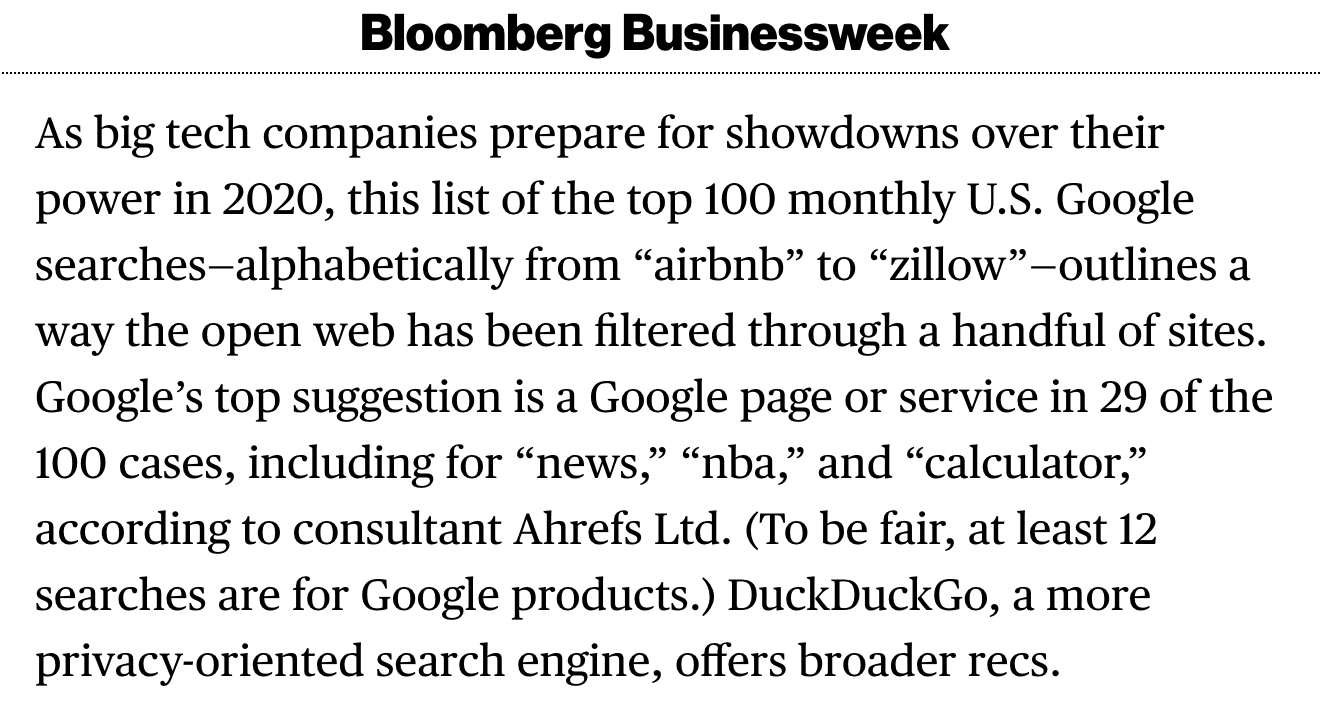 bloomberg mention