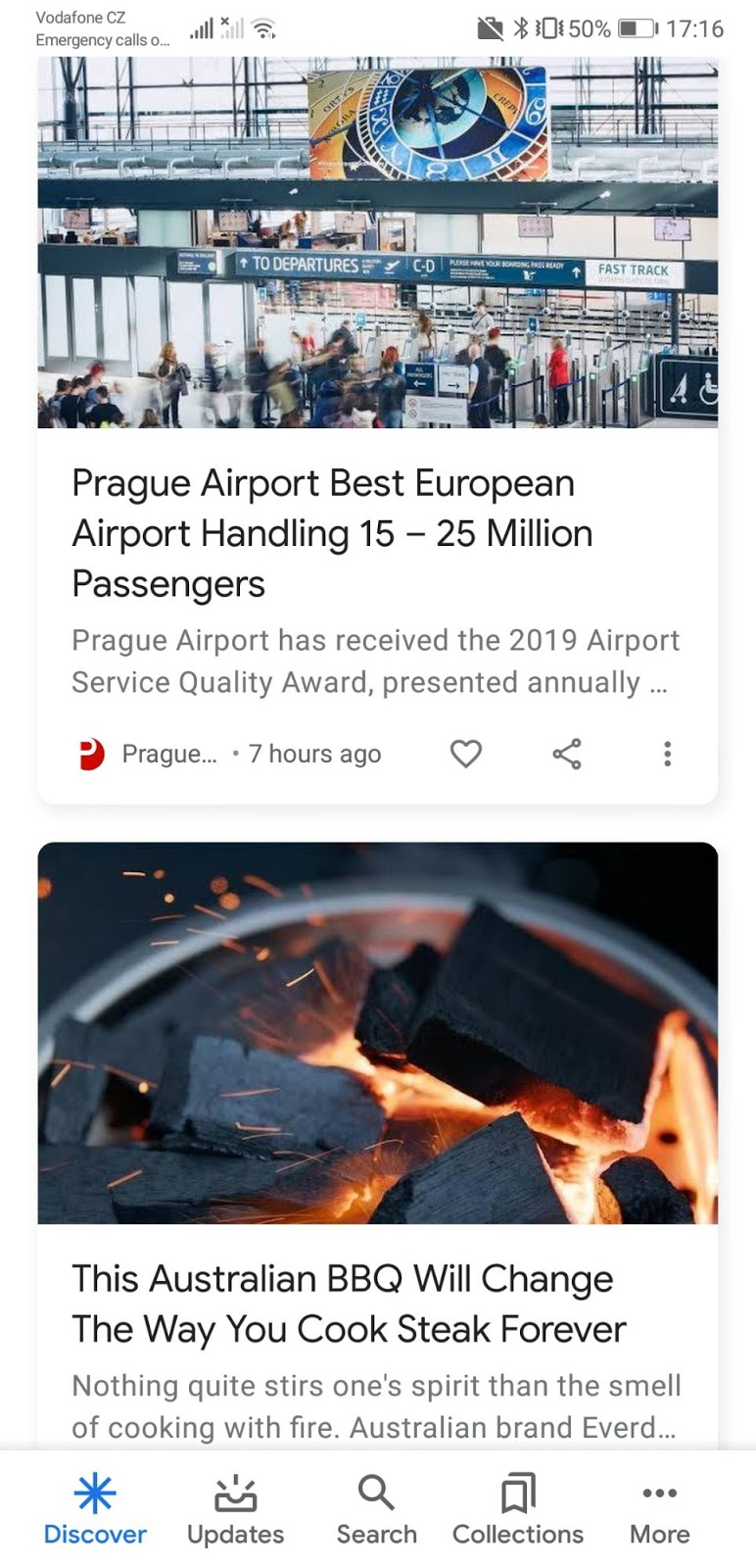 1 google discover feed