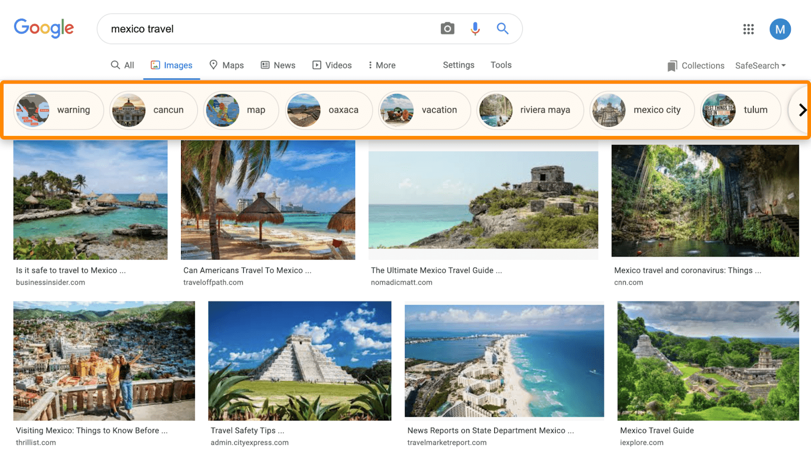 16 google images entities