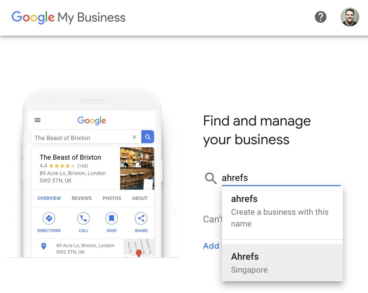 2 find create business 2