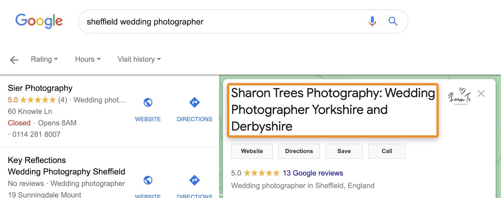 2 keyword stuffed business name 2