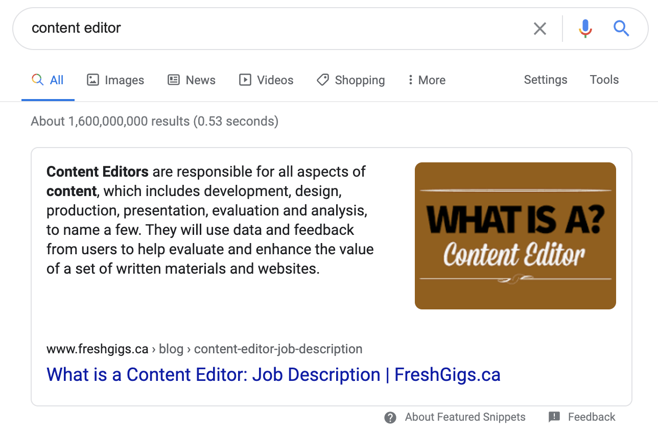 24 featured snippet paragraph