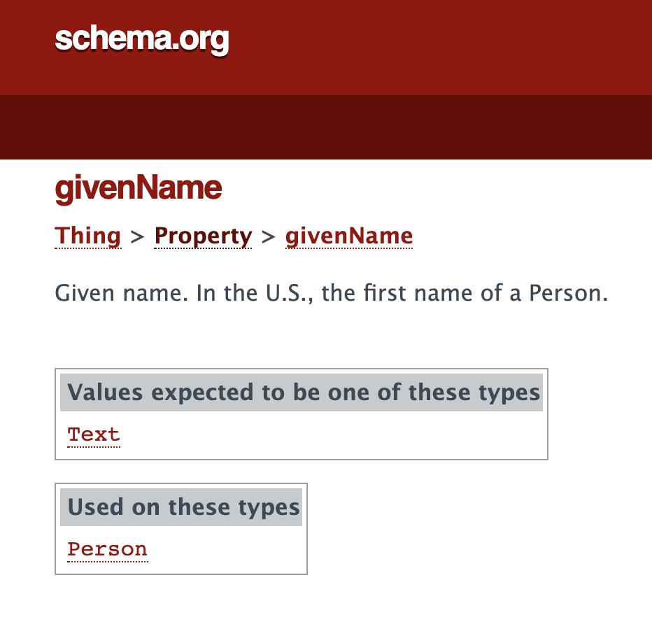 4 schema given name 1