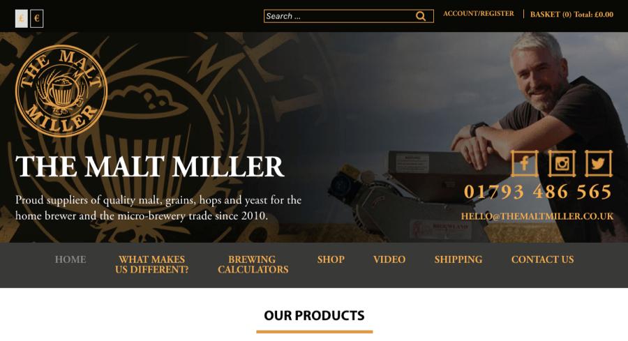 the malt miller