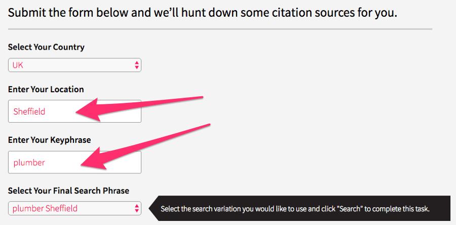 whitespark citation finder