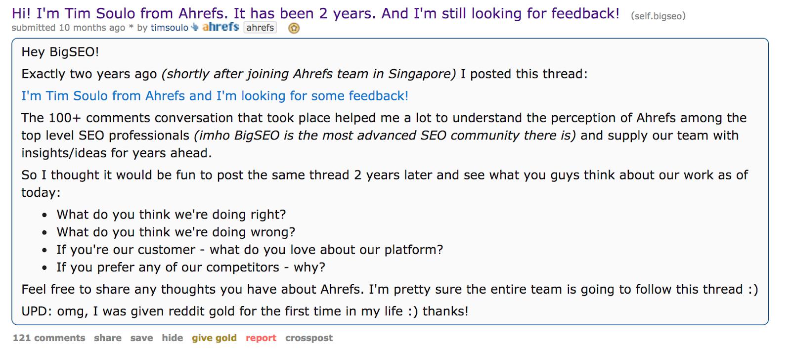 reddit tim post