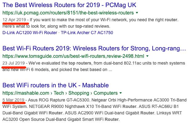 best router serp