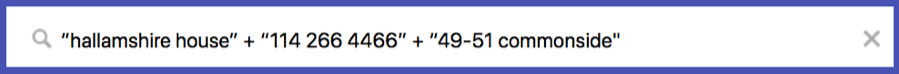 google alert nap citation