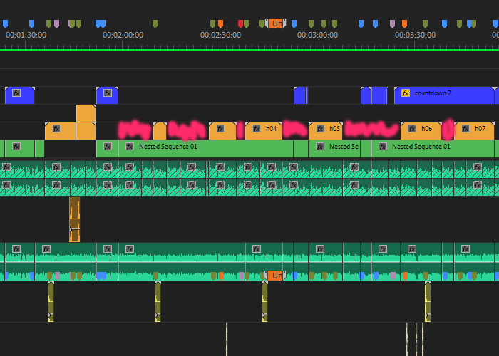 video editing gaps