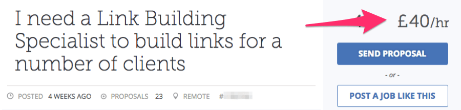 link builder job listing