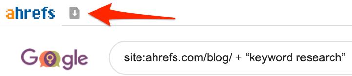 ahrefs toolbar export