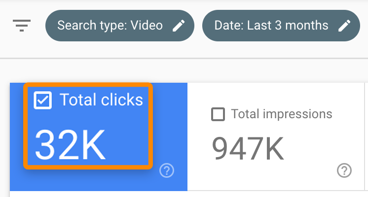 19 video clicks