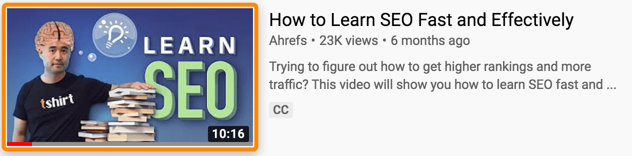 10 ahrefs youtube thumbnail