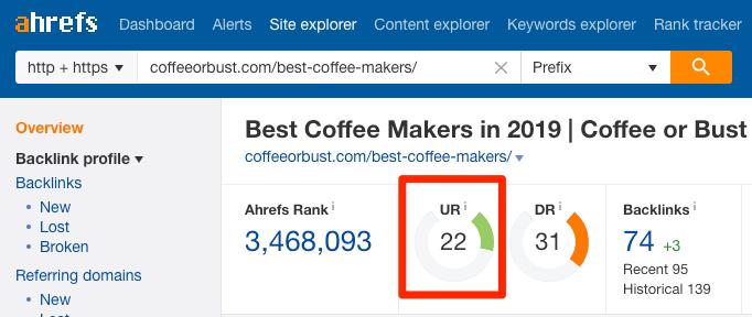 url rating site explorer