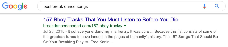 best break dance songs Google Search