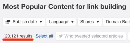 content explorer link building
