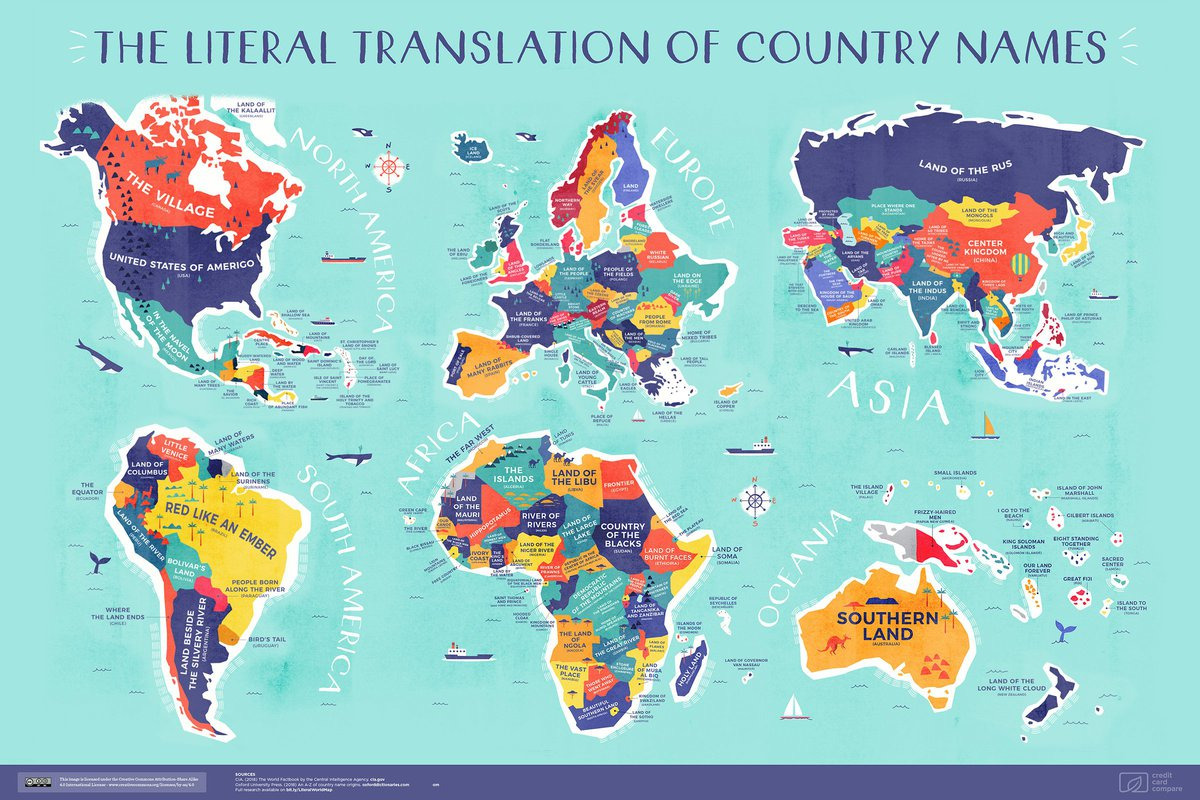 10 country names map