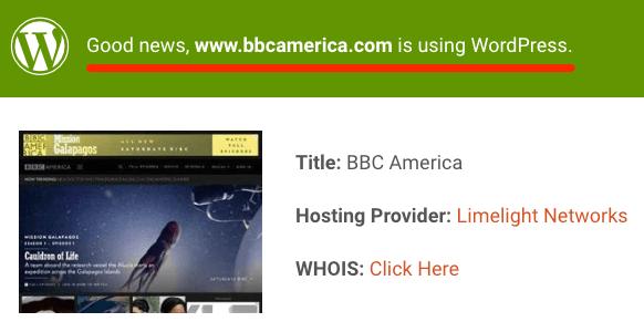 bbc america isitwp