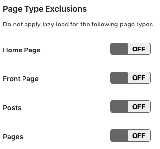 a3 page exclusions