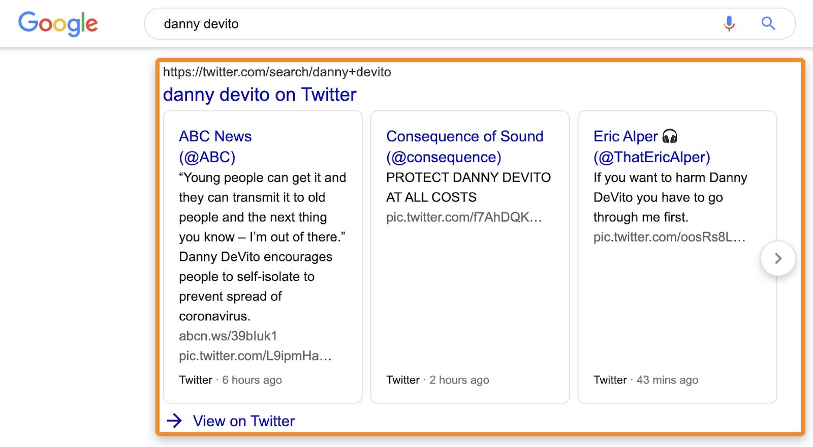 21 unbranded tweets box