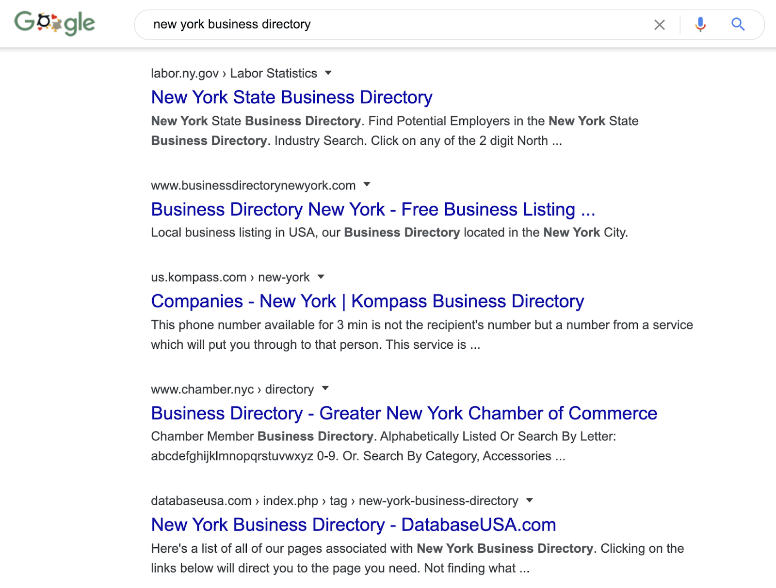 12 local citations search google