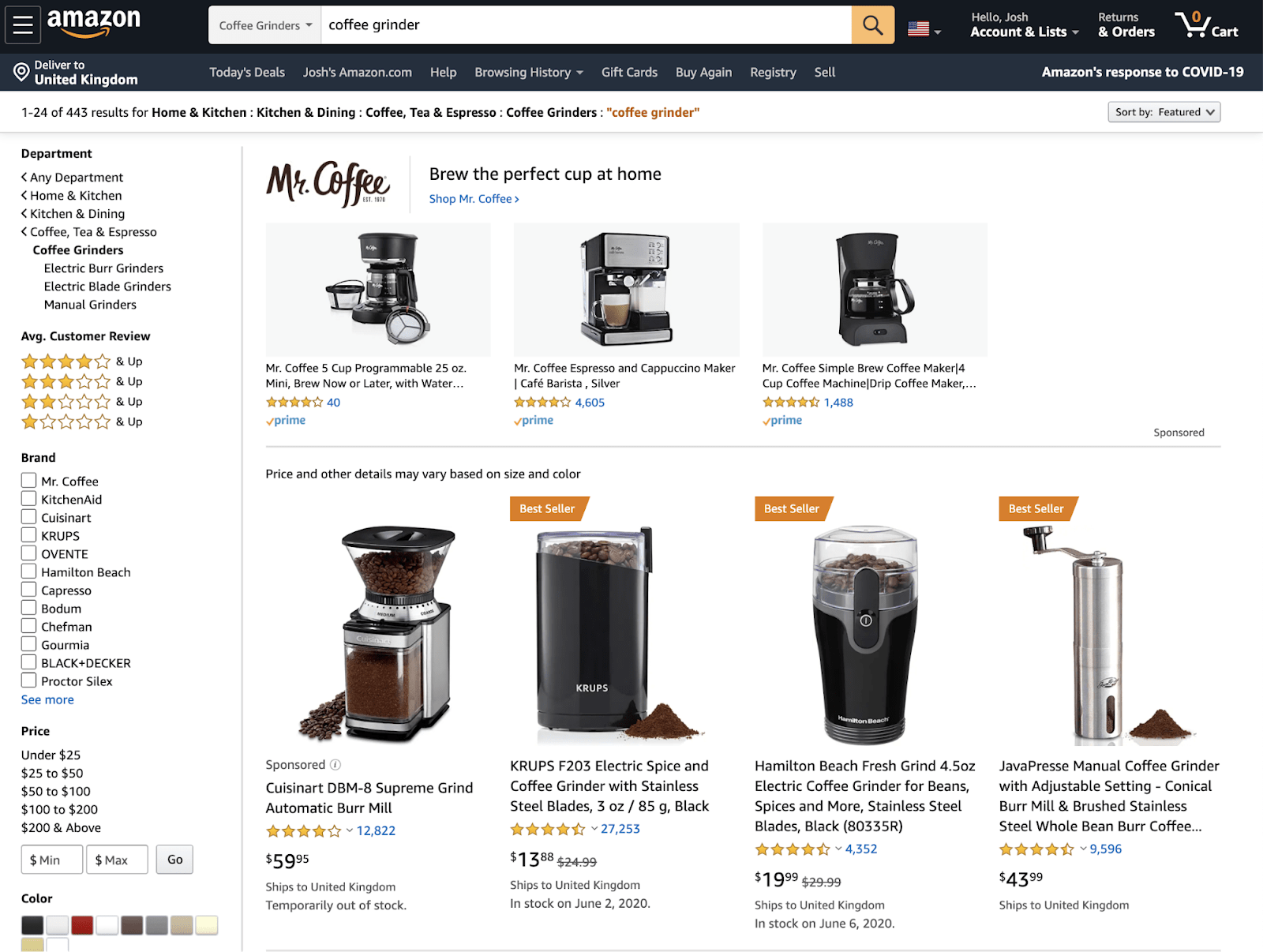 21 amazon product prices