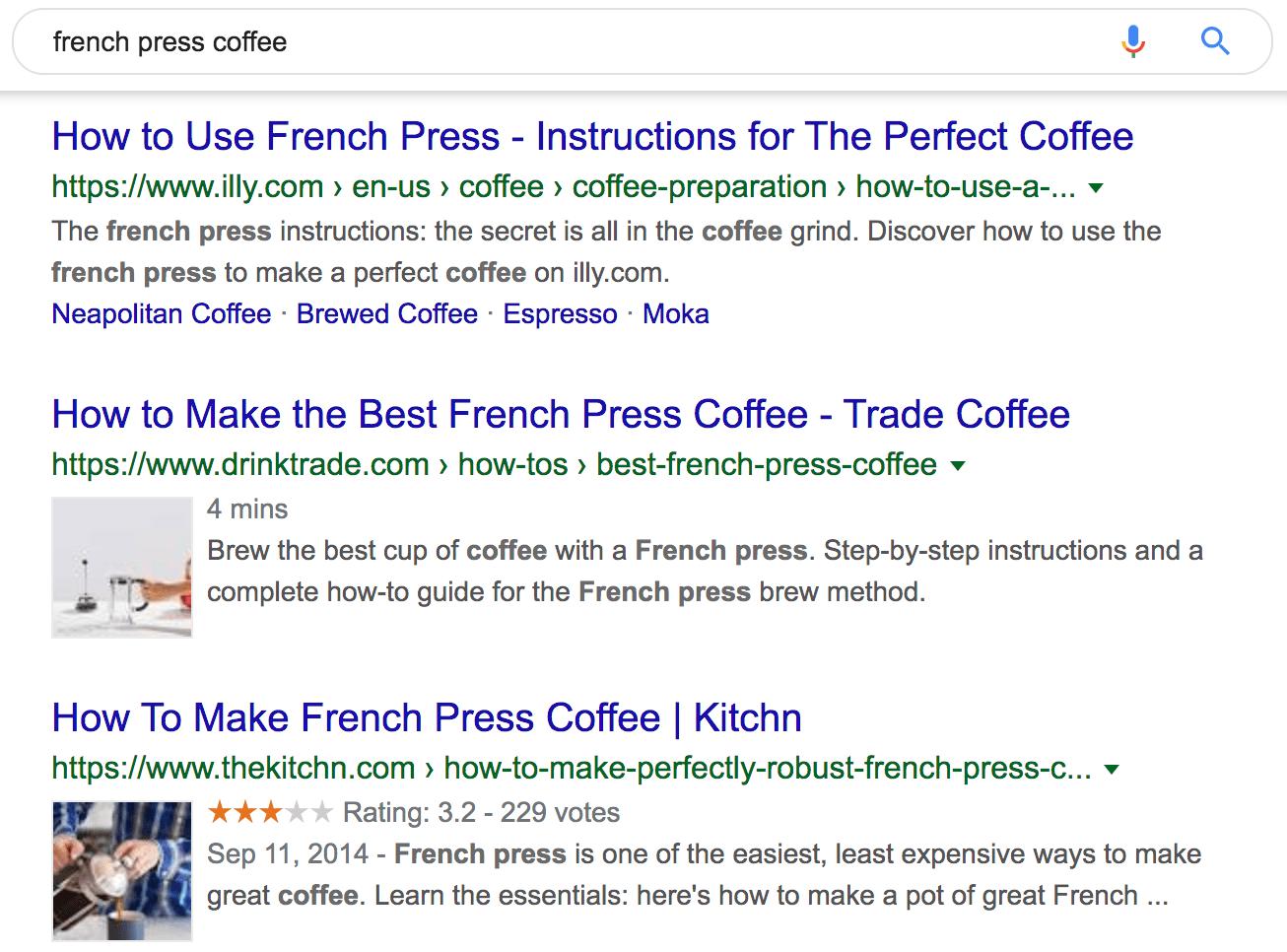 french press coffee Google Search