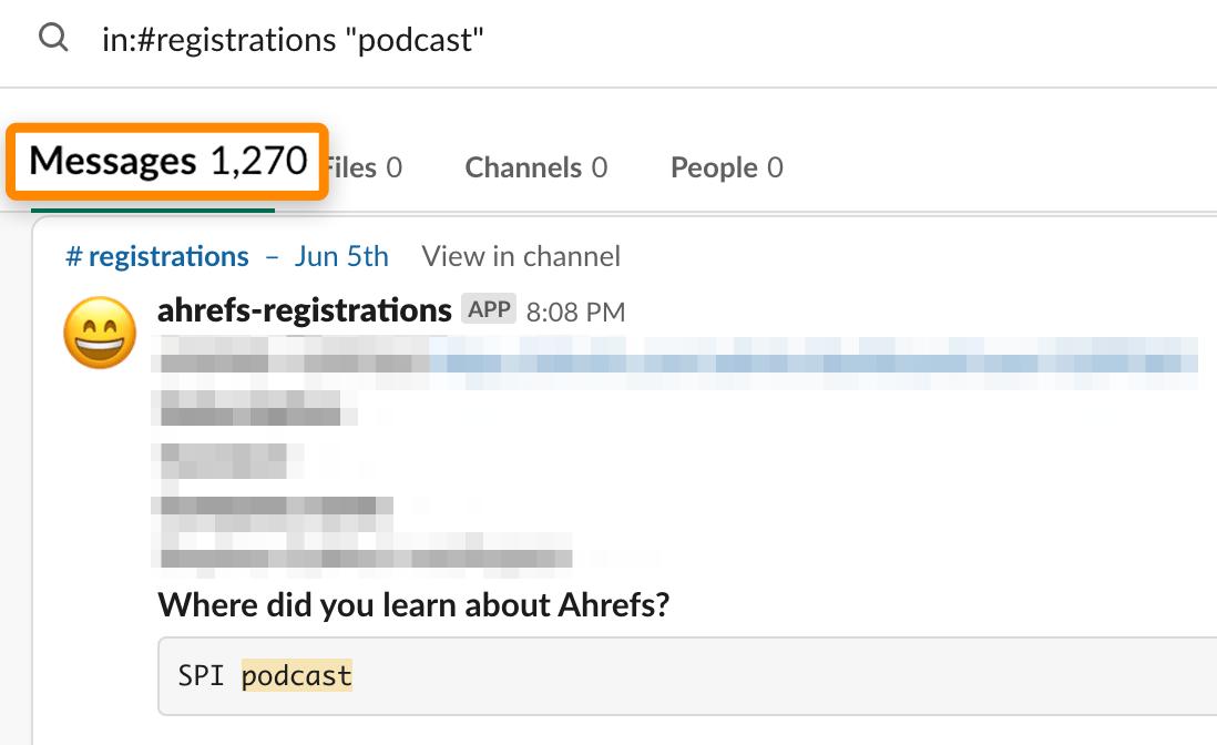 04 podcast registrations