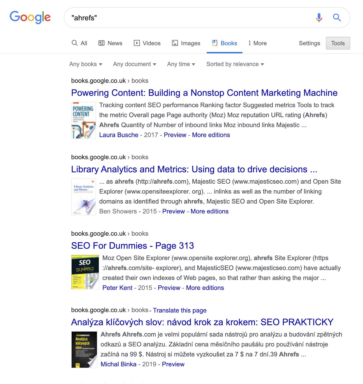 12 google books