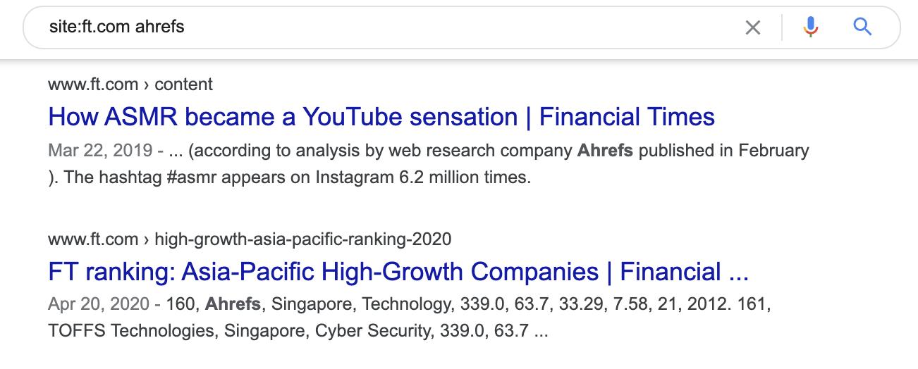 14 brand mentions google
