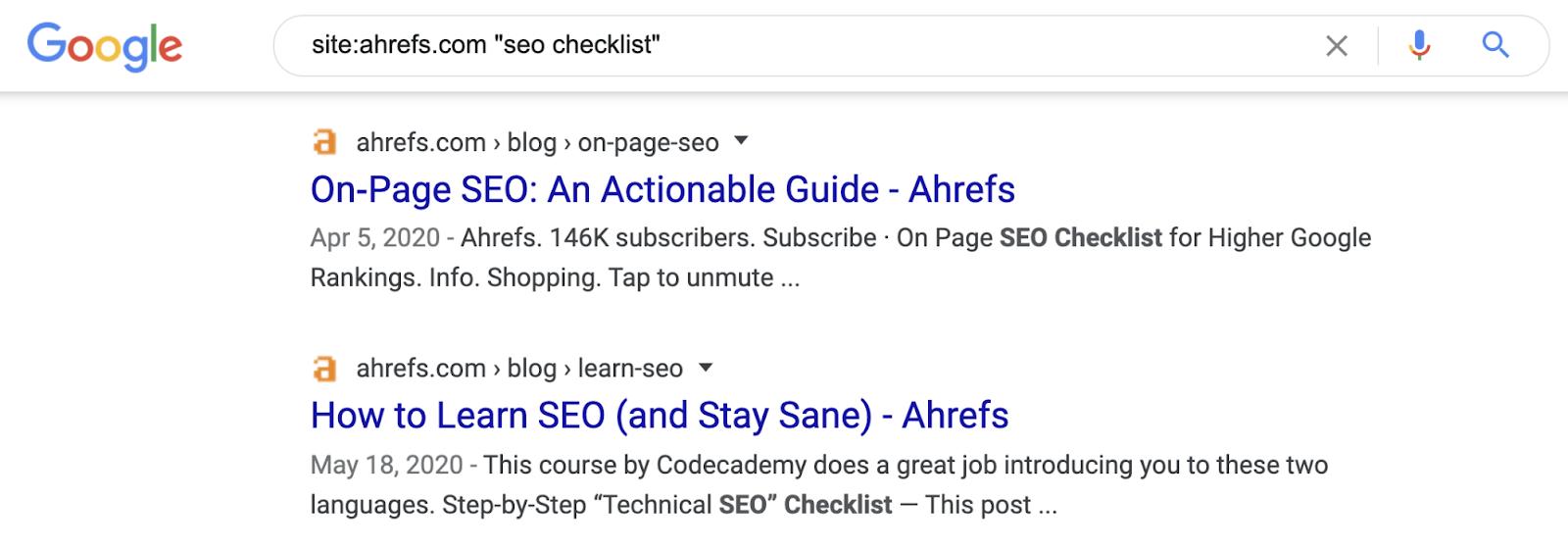 18 internal links search