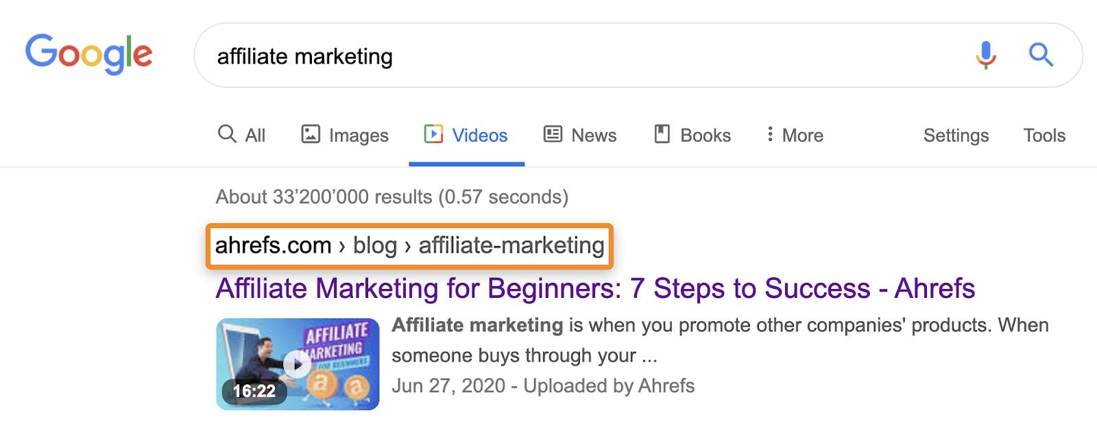 31 affiliate marketing videos blog