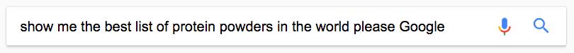 Оооочень длинный запрос в Google