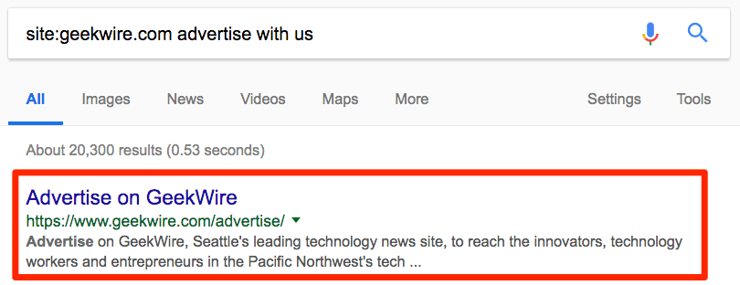 geekwire.com - рекламодателям