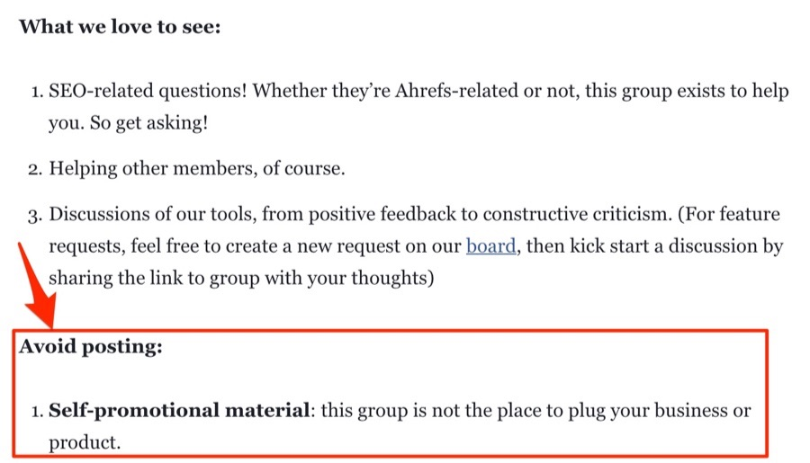 Ahrefs Insider - правила