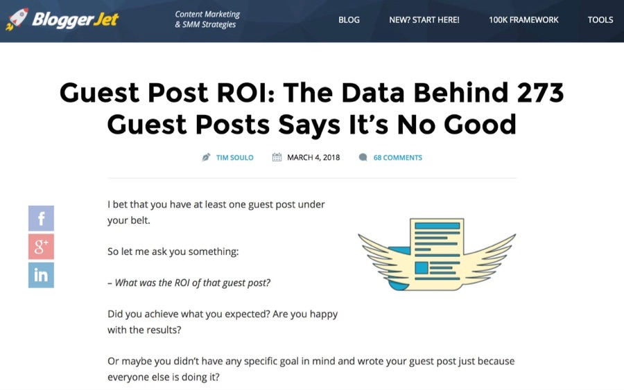 Гест-постинг - BloggerJet